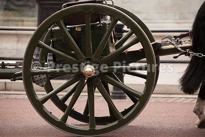 Wheel of The Kings Troop Gun Carriage