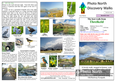 Threlkeld walk - Two page PDF file