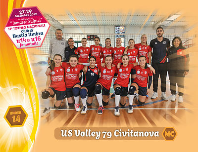28 dicembre 2019. Foto: per VolleyFoto.it [riferimento file: 2019-12-28/U14-USVolley79Civitanova]