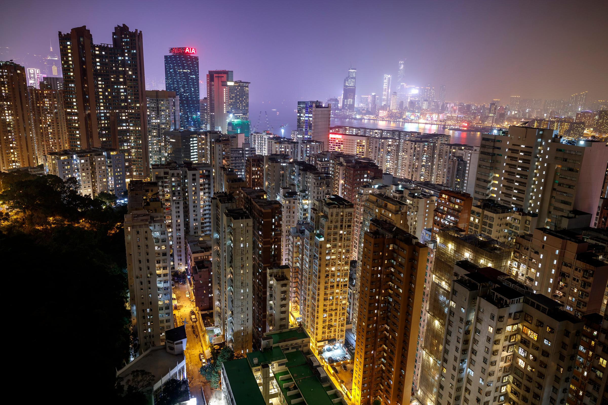 Hong Kong, Chine, Asie