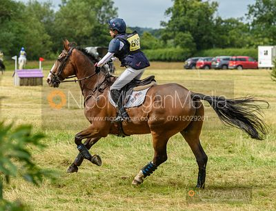 Louise Harwood and MR POTTS - Aston Le Walls Horse Trials 2019.