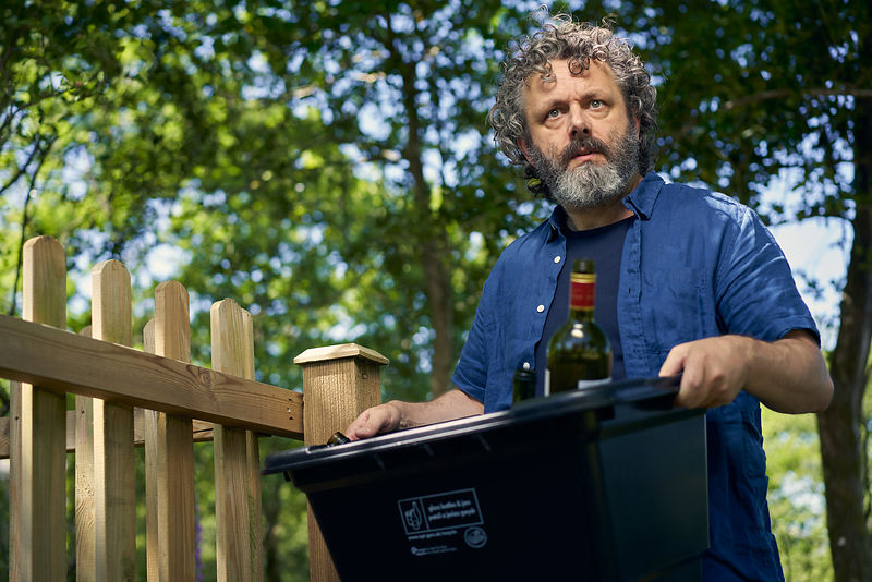 "Michael Sheen in ""Staged"""