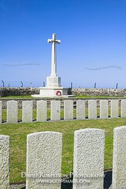 World War I cemetry at Kilchoman, Isle of Islay, Argyll and Bute, Scotland.  The graves at this small cemetry are mostly of t...