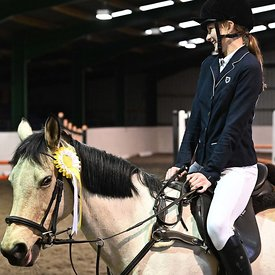 05/01/2020 - Class 4 - Unaffiliated showjumping - Brook Farm training centre