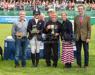 Prize giving - Land Rover Burghley Horse Trials 2019