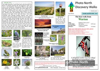 Warton walk download - Two page PDF file