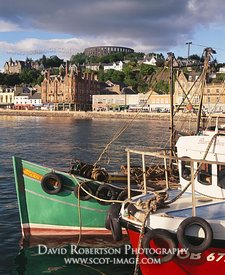 Image - Oban harbour, fishing boats, Argyll, Scotland