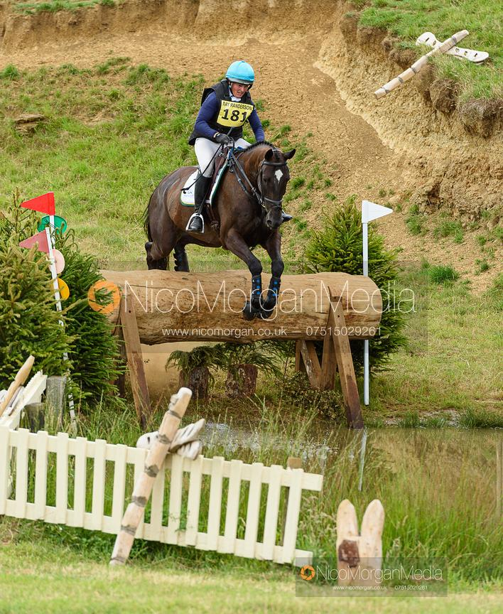 Selina Milnes and MORELANDS CASANOVA - Upton House Horse Trials 2019.