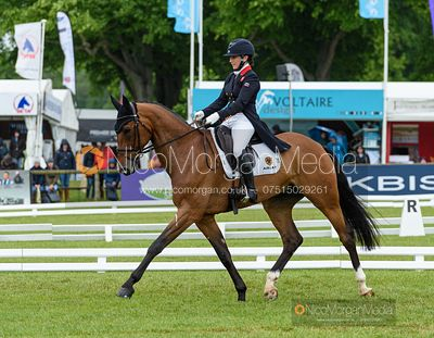 Laura Collett and LONDON 52, Dressage, Equitrek Bramham Horse Trials 2019