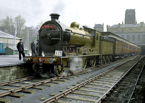 D34 256 GLEN DOUGLAS Hyndland (Colourised)