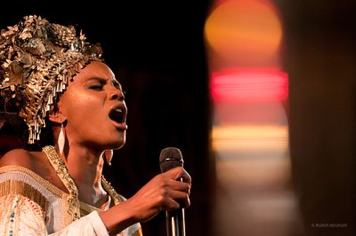 Noisettes concert at Union Chapel, London