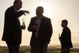 Evening drinks reception. Event, St Andrews