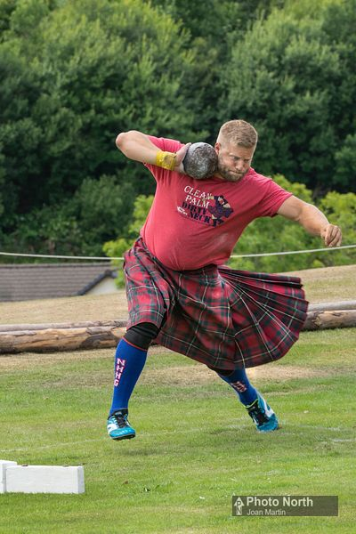 ISLE OF MULL 90BB - Galleon Ball Throw, Mull Highland Games