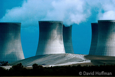 Drax Power Station, Selby, Yorks. One of least polluting coal fired generators in the UK it is now being fitted with flue scr...