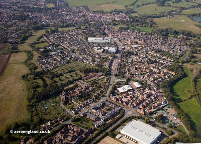Newport Pagnell aerial photograph
