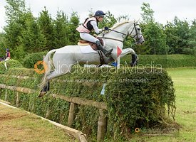Felicity Collins and GLASKER SWEET CLOVER - Aston Le Walls Horse Trials 2019.