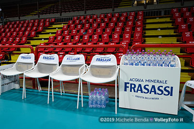 Panchina, sponsor, Acqua Frasassi