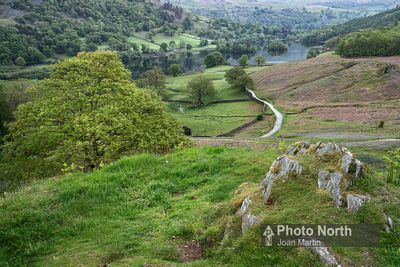 RYDAL 10A - A distant view of Rydal Water