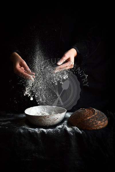 Flour in Motion