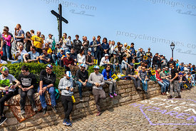 Crowd of Spectators - Tour of Flanders 2019