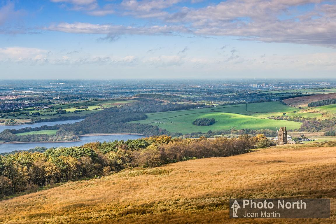 RIVINGTON 34B - View from Rivington Pike