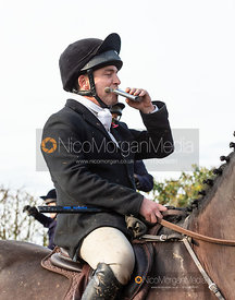 Ben Hobday on the Halifax Estate. The Middleton Hunt at Bugthorpe 9/11
