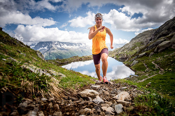 Trail running in Chamonix with Sophie Radcliffe