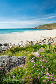Gwynver (Gwenver) Beach, near Sennen, Cornwall - BP6756