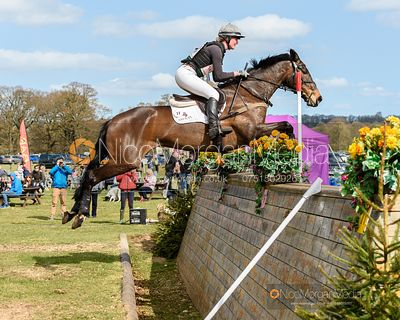 Flora Young and DOCTOR'S ORDERS, Belton Horse Trials 2019