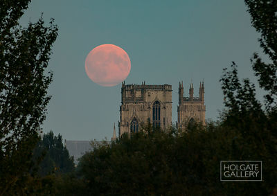The Moon and the Minster