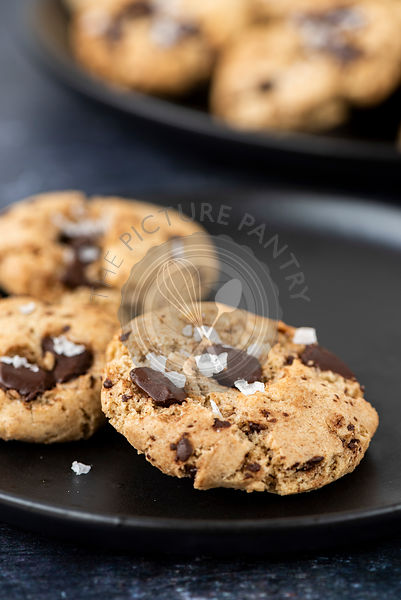 Chocolate Chunk Tahini Cookies