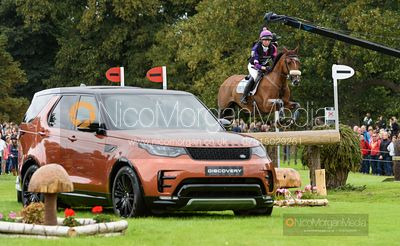 Ginny Howe and UNDALGO DE WINDSOR - Cross Country - Land Rover Burghley Horse Trials 2019