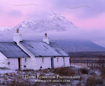 Image - Buachaille Etive Mor and Blackrock Cottage, Scotland