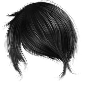 Male Digital Hair