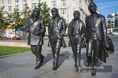 LIVERPOOL 61A - The Beatles statue