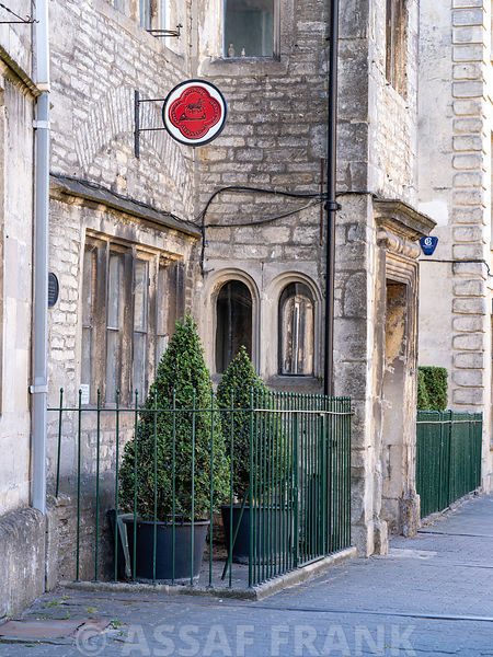 Old building in Tetbury town, Cotswolds