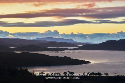Image - View west along Upper Loch Torridon, Torridon, Wester Ross, Highland, Scotland