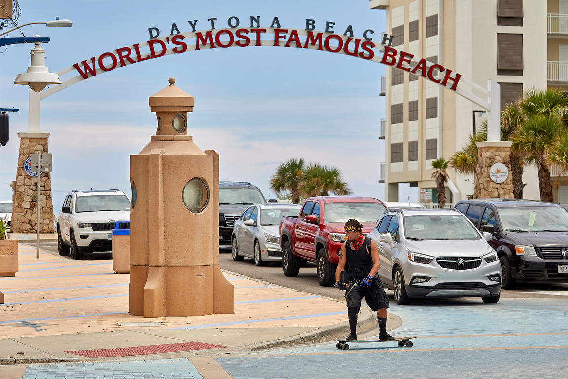 Daytona Beach skateboard