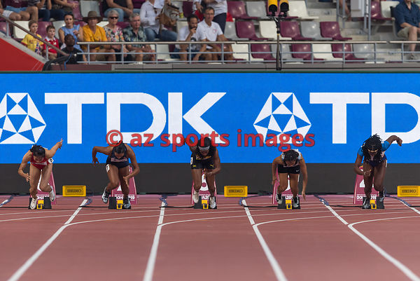 Women's 100 metres heats