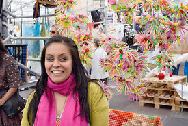 #029121,  Mandeep Kaur Dhiman and her textile designs, Royal College of Art Degree Show, London 2007