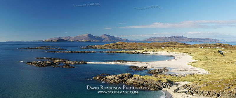 Image - Sanna Bay Panoramic, Ardnamurchan, Scotland