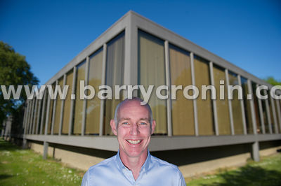 Monday 8th June, 2015.RTE Broadcaster Ray D'Arcy pictured in and at Radio Centre, Donnybrook, Dublin Photo:Barry Cronin/www.b...