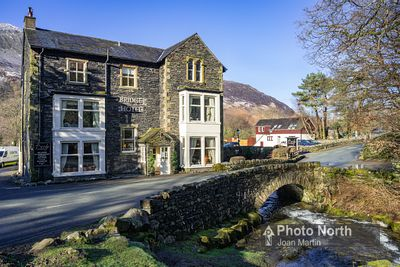 BUTTERMERE 39A - Bridge Hotel and Mill Beck