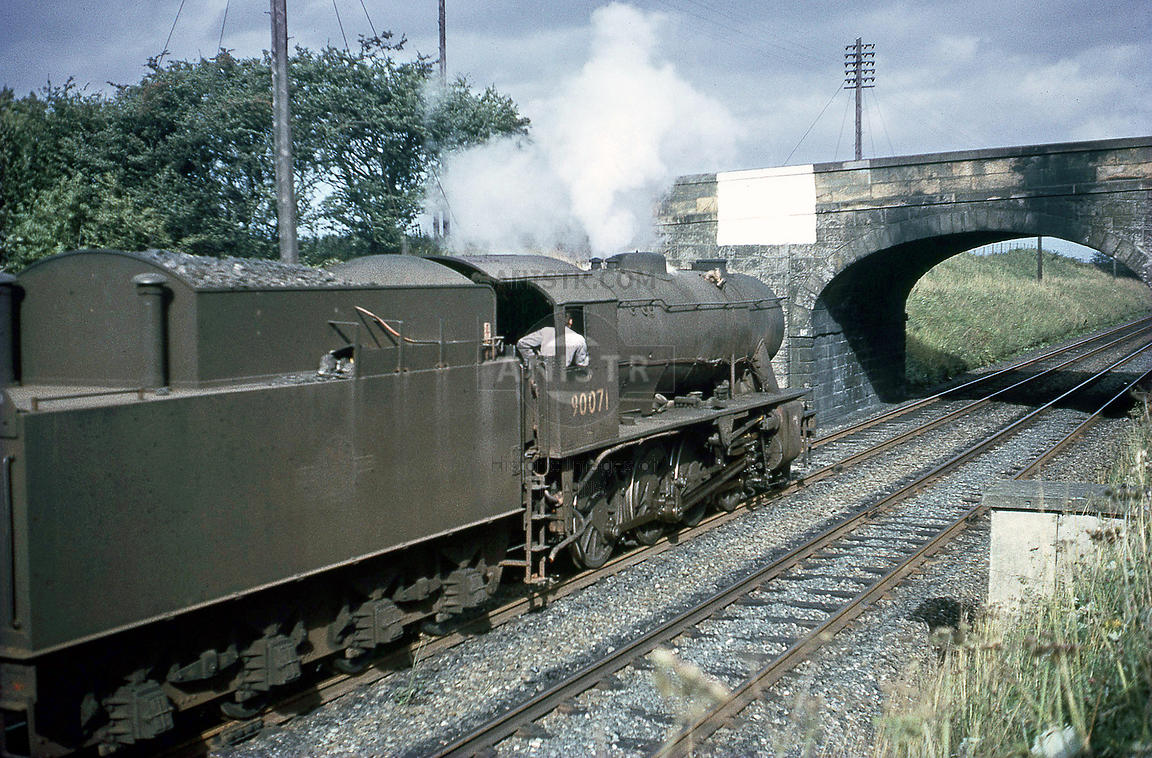 Steam loco WD 90071 Thornton