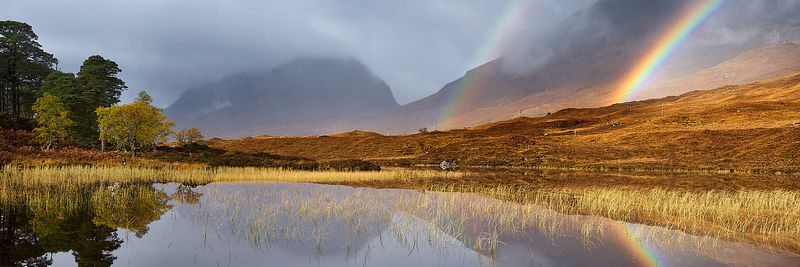Image - Liathach and Loch Clair, Torridon, Wester Ross, Scotland