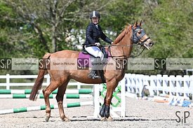 Stapleford Abbotts. United Kingdom. 25 April 2021. Unaffiliated showjumping. MANDATORY Credit Garry Bowden/Sport in Pictures ...