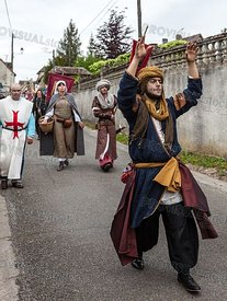 Parade of Medieval Characters
