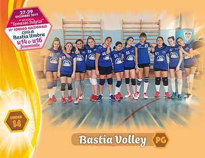 28 dicembre 2019. Foto: per VolleyFoto.it [riferimento file: 2019-12-28/U14-BastiaVolleyPG]
