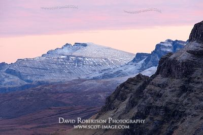 Image - View along the Trotternish scarp slope to The Storr, Isle of Skye, Scotland