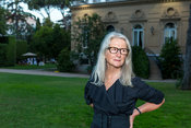 Sally Potter at the British Ambassador's residence in Rome, Rome, Italy, 12, Jul, 2018